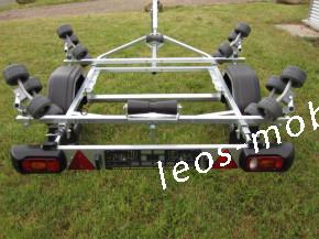 Brenderup 150600UB RBX Schlauchboot Trailer 600 kg 4.30x1.58