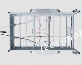 SIGG 35 BS 36 T7 Baggeranhänger 3.54x1.66 3500 kg  Baumaschinen Minibagger Maschinentransporter ALU-Riffelblechboden